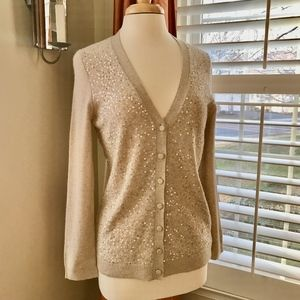 Sequined Cardigan NWT